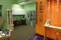 lenses and frames offered at vision source planet eyewear in flower